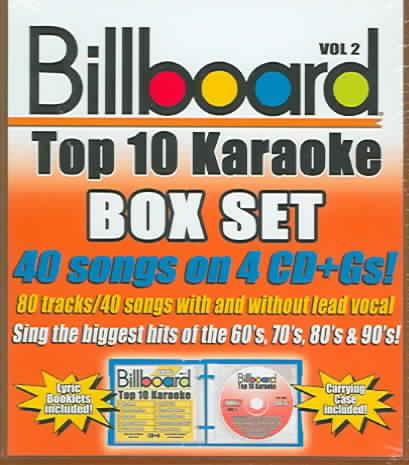 BILLBOARD TOP 10 KARAOKE VOL 2 BY SYBERSOUND (CD)